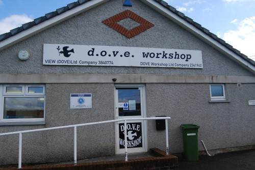 Entrance to DOVE